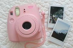 Ilmoitus: Vuokrataan polaroid kameraa