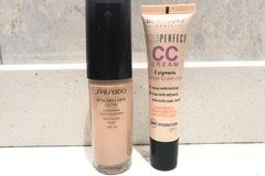 Venta: Regalo cc cream Bourjois, por la compra de la base Shiseido
