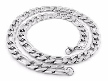 Buy Now: 20 PIECES -8MM 14KT WHITE GOLD OVERLAY CUBAN LINK CHAIN