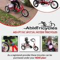 Selling: Tricycles / Bikes Special Needs