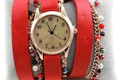 Bulk Lot: SPECIAL! 100 FASHIONABLE WRAPAROUND WATCHES JUST $2.99EA