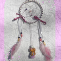 Vente au détail: Petit Attrape-rêves féerique figurine zodiaque gémeaux fille