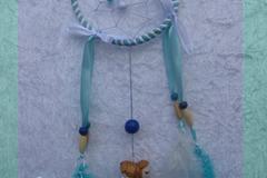 Vente au détail: Petit Attrape-rêves féerique figurine zodiaque gémeaux garço