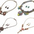 Bulk Lot: ON SPECIAL! 60 BEAUTIFUL UPSCALE NECKLACE SETS