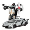 Sell: Lot of 10 remote control transformer car Lamborghini Gray