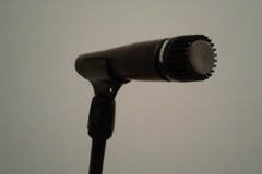Renting out: Shure SM57 (W/Clip, Stand, & Cable)
