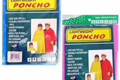 Sell: 300 KIDS POCHO RAINCOATS