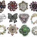 Sell: SPECIAL! 100 BEAUTIFUL STONE PINS JUST $3.49 EACH