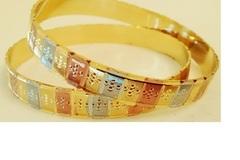 Sell: (243) Oro Laminado & Multitone Indian Bangles