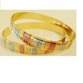 Sell: (80) Oro Laminado Type & Multitone Indian Bangles