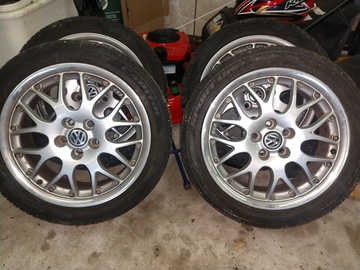 Selling: 16x7 | 5x100 | BBS 2 Piece wheels for sale