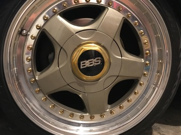 Selling: 16x8 | 5x112 | BBS RF wheels for sale