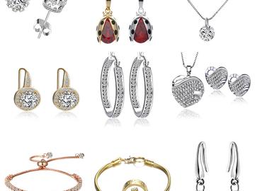 Sell: 75 Pieces - Swarovski Elements Crystal Fashion Jewelry