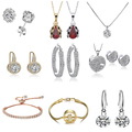 Buy Now: 75 Pieces - Swarovski Elements Crystal Fashion Jewelry