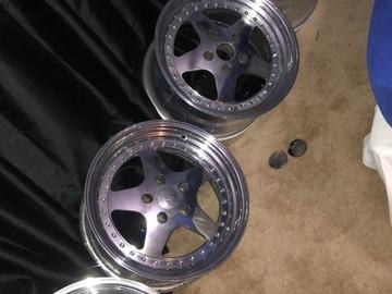 Selling: 17x9 & 17x9.5 | 5x114.3 | American Racing Type 328