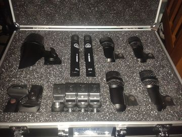 Renting out: AKG Drum Set Session I