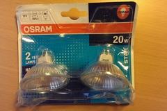 Myydään: Osram Halogen bulbs
