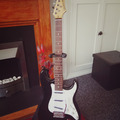 Renting out: Elevation 6-String Stratocaster-Style Guitar (Modded)