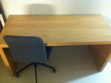 Myydään: Ikea Malm work desk 151cm x 65cm