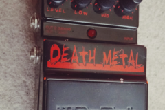 Renting out: Digitech Death Metal Guitar Distortion Pedal