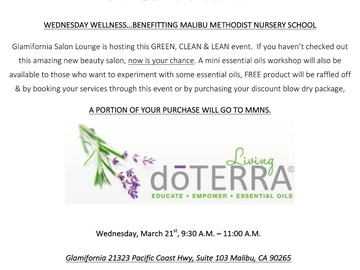 Announcement: Glamifornia Style Lounge Green Lean & Clean Event!