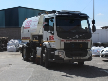 Hourly Equipment Rental: Sunday / Public Holiday Road Sweeper Rental - Cumbria