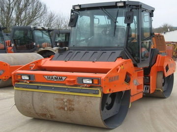 Daily Equipment Rental: HAMM HD 075V Roller - Cumbria