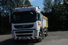 Hourly Equipment Rental: Volvo 8x4 Tipper Tarmac Spec