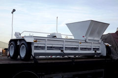 Daily Equipment Rental: 14ft Hydrostatic Chip Spreader and Trailer
