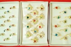 Sell: (144) Cubic Zircon Rings Royal Fashion