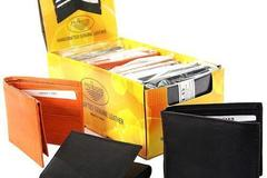 Sell: 72 ASSORTED MEN'S LEATHER WALLETS