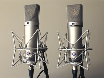 Renting out: Neumann u87 Ai Matched Pair