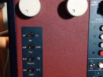 Renting out: Lachapell 583s Vacuum Tube 500 Series Preamp