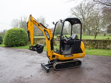 Daily Equipment Rental: JCB 8014 1.4t Mini Digger