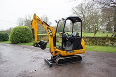 Daily Equipment Rental: JCB 8014 1.4t Mini Digger