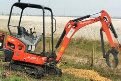 Daily Equipment Rental: Kubota 1.5t Mini Excav/operator Leeds/Wakef/Barnsley/Sheff