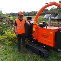 Daily Equipment Rental: Timberwolf Tracked Chipper w/operator Leeds/Wakef/Barns/Shef