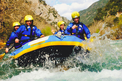 Experience: Rafting on the Evinos River - Nafpaktos