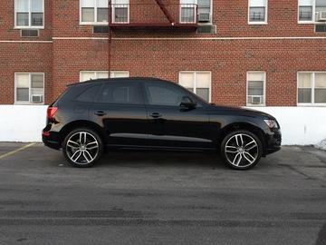 "Selling: New Factory OEM Audi SQ5 21""  Black Optics Wheels + Tires"