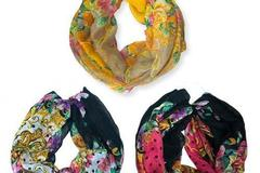 Sell: 120 WOMEN'S BEAUTIFUL SUMMER INFINITY SCARVES