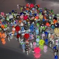 Bulk Lot: 300 PCS body jewelry belly rings, eyebrow, tongue, lip, nose
