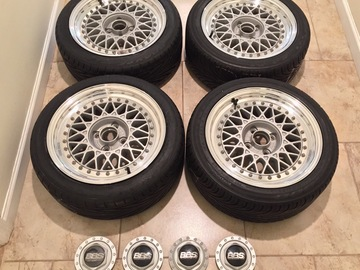 Selling: 15x6.5 | 4x100 | BBS RM wheels for sale