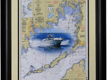 Selling: Custom Boat Chart Art