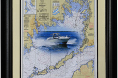 Selling: Custom Boat Chart Art