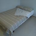 Myydään: Bed + linen (120 x 200)