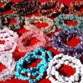Sell: 80pc Genuine Stone Bracelets Quartz Tigers eye Jasper,More