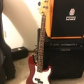 Renting out: Fender Precision Bass