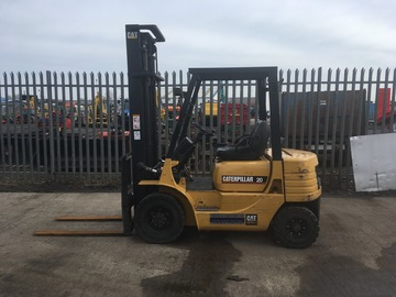 Daily Equipment Rental: Diesel Counterbalance Fork Truck For Hire