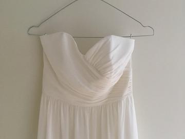 Ilmoitus: Siro a-linjainen mekko sydän kaula-aukolla