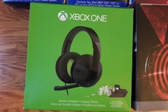 Bulk Lot:  Xbox headset, Gaming Headphones, and Cables